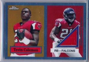 TEVIN-COLEMAN-2015-Topps-Chrome-Topps-60-Rookie-Throwback-Relic-Falcons-RC
