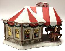 Santa's Workbench Big Top Toy Shoppe Christmas Village Building Victorian Series