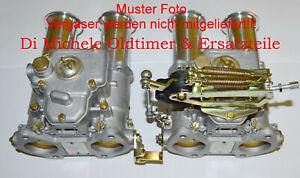 38-40-42-45-DCOE-DCOM-DCO-Weber-Vergaser-Universal-Gasansteuerung-Gestaenge-Oben