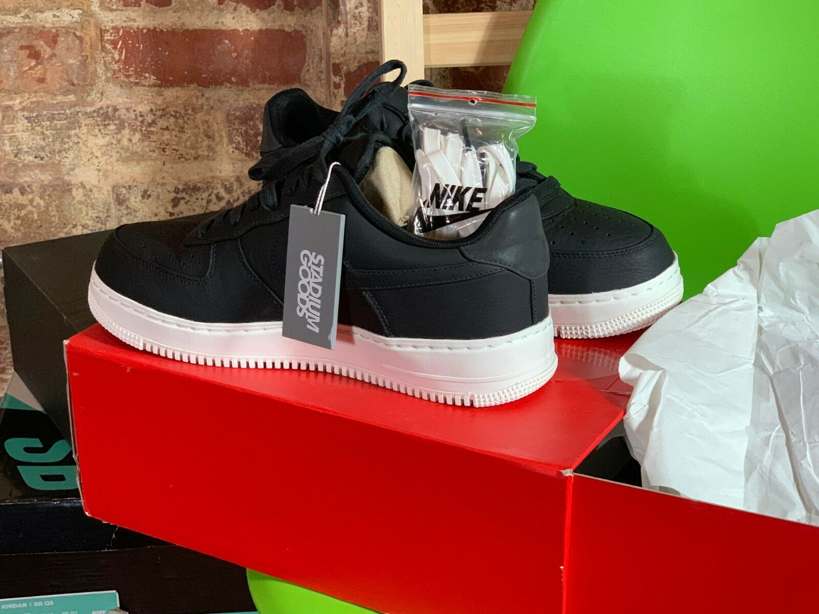 Nike Lab - Air Force 1 - Black - DS - Size  10.5 - @Domingos.Sundays - NYC - 21