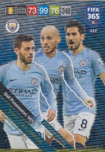 FIFA 365 cards 2019-337-Bernado SILVA//David Silva//Ilkay Gündogan
