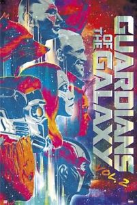 """2  MOVIE POSTER US Version GUARDIANS OF THE GALAXY VOL Size: 24 x 36/"""""""