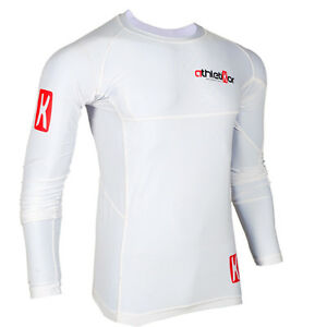 Kompressions T-Shirt in Premiumqualitä<wbr/>t_Spezielles Strechmaterial<wbr/>_Farbe weiss