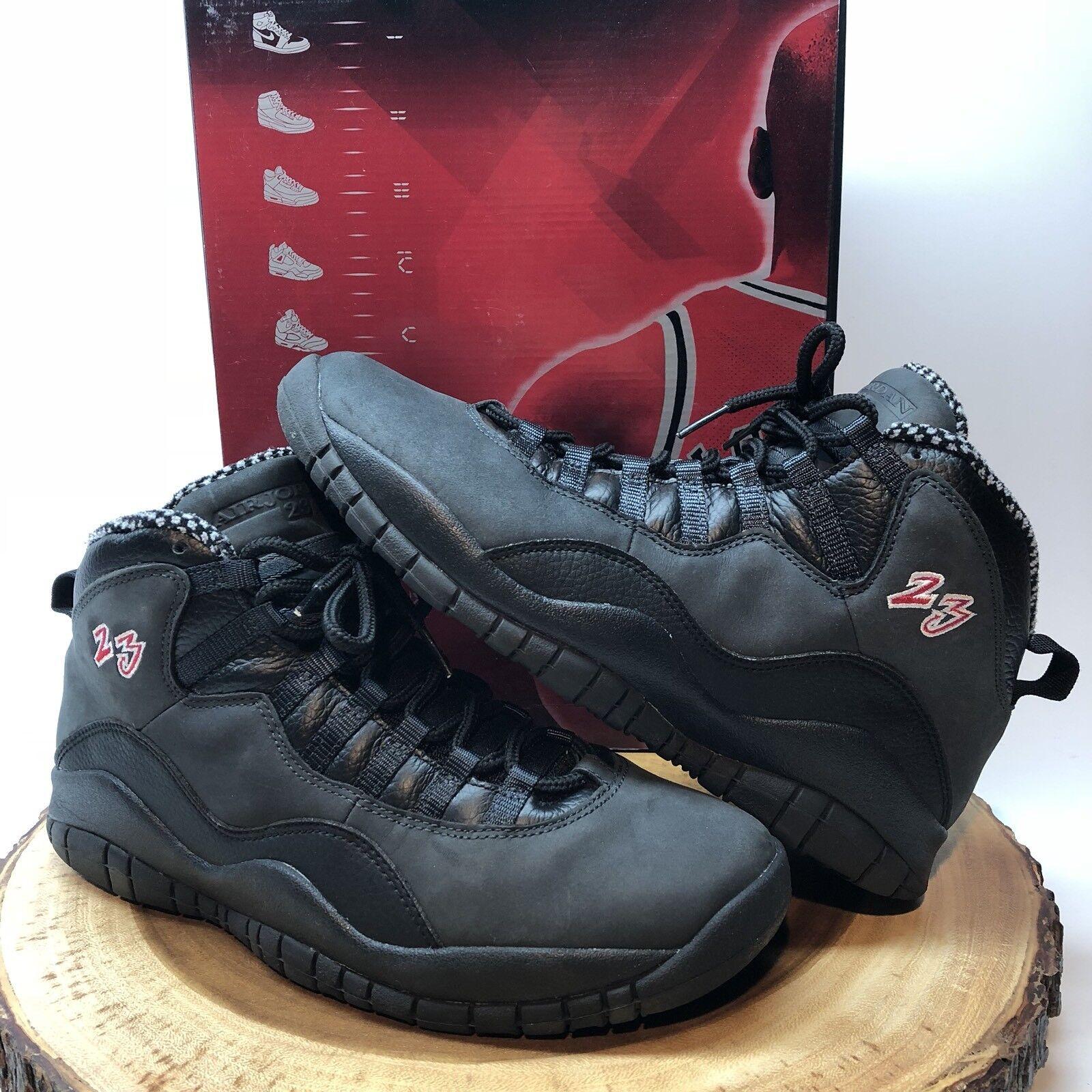 Nike Air Jordan Retro X Shadow Black Red CDP Size 9.5 XI XII XIII XIV