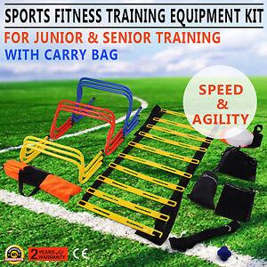 Fußball Speed Ladder Koordinationsleiter  Schnelligkeitstraining  Fußball Training Set