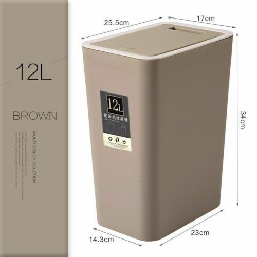 Pressing Cover Garbage Bins Top Quality Stocked Eco-Friendly Trash Can Home Tool