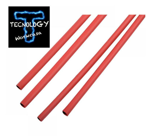 Guaina termorestringente 1,5 mm x 1 metro rossa