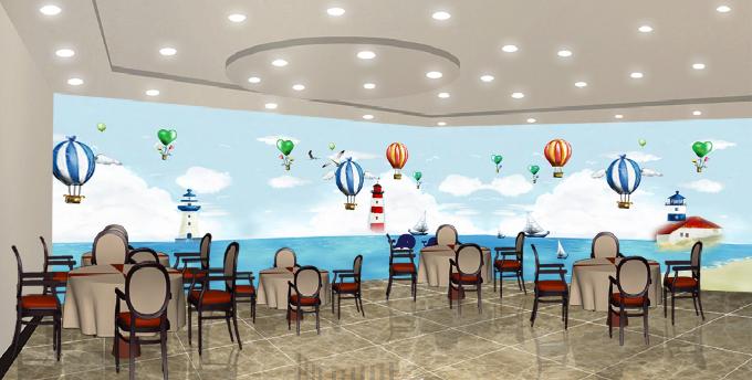 3D Ozean-Ballon-Delphin 73 Tapete Wandgemälde Tapete Tapeten Bild Familie DE