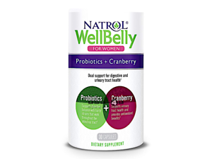 Natrol-WellBelly-for-Women-Probiotics-amp-Cranberry-30-Caps