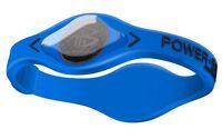 Power Balance Electric Series 100% Silicone Wristband Size: M (19cm) Blue/black