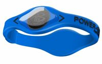 Power Balance Electric Series 100% Silicone Wristband Size:s (17.5cm) Blue/black