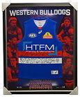 Western Bulldogs 2017 Signed Official AFL Team Jumper Framed Bontempelli Boyd