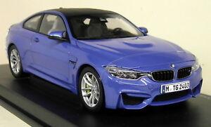 Paragon-1-18-Scale-BMW-M4-Coupe-F82-Yas-Marina-Blue-Diecast-Model-Car