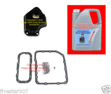 Transmission ATF1 5 Liter Fluid + Filter Oil Pan Gasket Bolt kit BMW 3 Series z3