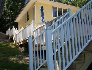 Aluminum Deck Railing 6 ft. wide x 36 in. and 42 in ...