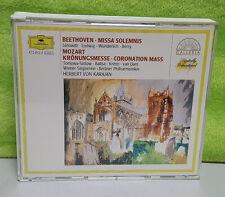 Beethoven: Missa Solemnis; Mozart: Coronation Mass (CD, Nov-1988, 2 Discs, DG De
