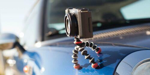 JOBY JB01504-BWW Gorilla Pod Magnetic Mini Tripod Small Action Cameras Open Box