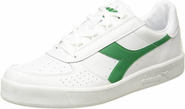 Diadora B. Elite White Green Mens