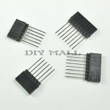 2 Set 6 Pin 8 Pin Stackable Female Header Kit 14mm for Arduino Shield Pro Mega