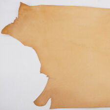 Grade A/b Veg Tan Cowhide Tooling Leather Double Shoulder 6/7oz 12 Square Feet