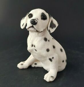 Vintage-Country-Artists-Dalmatian-Puppy-Dog-Figurine-Signed-MA-2001-B1