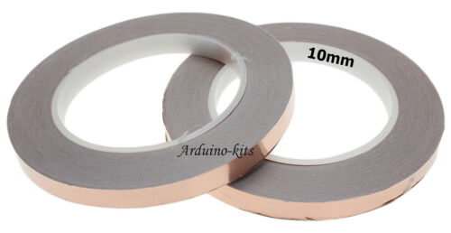 10mm Copper Tape, Slug & Snail repellent 30 meters Roll Plant protection UK
