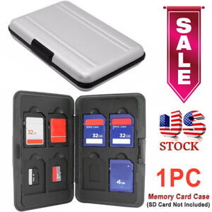 Memory-Card-Wallet-16-Micro-SD-SDHC-Protecter-Storage-Holder-Pouch-Case-US-Stock