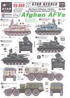 Star Decals 1/35 Afghan Afvs Northern Alliance, Taliban, & Afghanistan Army