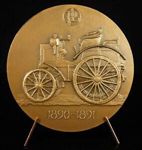 Medal-Rene-Panhard-amp-Emile-Levassor-Type-a-Manufacturer-Automotive-Old-Car
