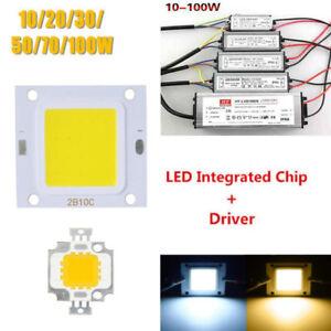 10W-20W-30W-50W-70W-100W-LED-Chip-LED-Driver-Alimentazione-SMD-da-impermeabile