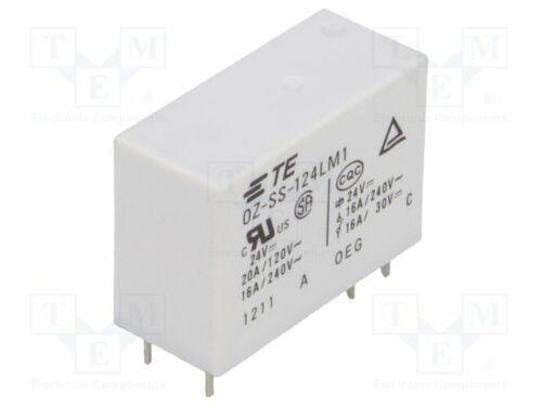 elektromagnetisch SPST-NO USpule Relais 24VDC  16A//240VAC 2-1440002-9 Elektro