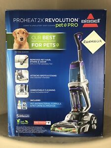 Bissell Proheat 2x Revolution Pet Pro Carpet Cleaner 1986