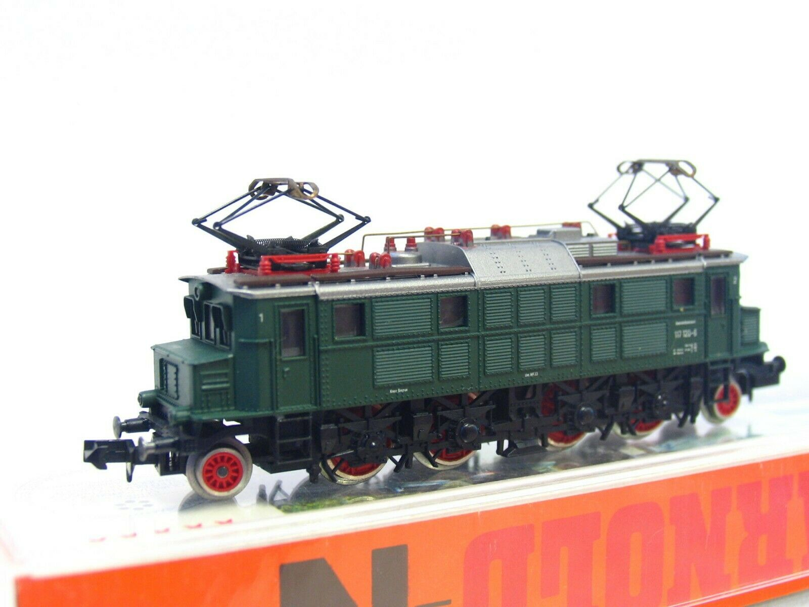 Arnold n 2456 e-Lok br 117 120-6 DB embalaje original (rb7795)