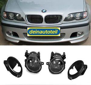 Antiniebla-OETEC-CRISTAL-CLARO-cromo-BMW-3er-e46-Limousine-Touring-para-paquete-M