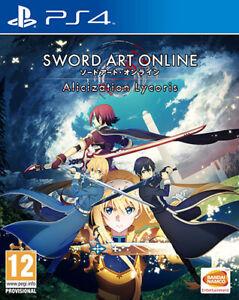 Espada Arte Online Alicization Lycoris PS4 PLAYSTATION 4 Namco