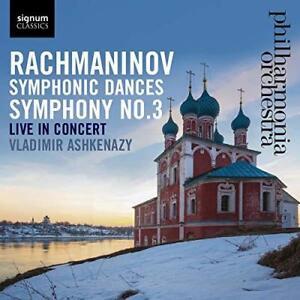 Vladimir-Ashkenazy-Philharmonia-Orch-Rachmaninov-Symphonic-Dances-Sy-NEW-CD