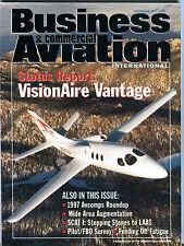 Business & Commercial Aviation Magazine November 1997 FAA EX 030416jhe