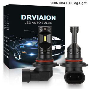 2Pcs-9006-HB4-160W-LED-Nebelscheinwerfer-Birnen-Auto-Fahrlicht-DRL-Weiss-High-Po