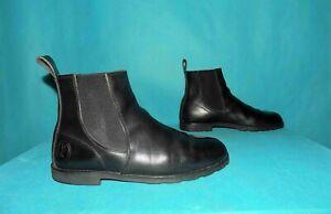 bottines boots LA BOTTE GARDIANE en cuir noir  p 47 fr