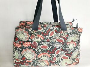 Vera-Bradley-Triple-Compartment-Travel-Bag-In-Nomadic-Floral-Trolley-Sleeve