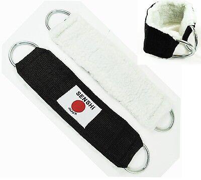 V2 Coppia Cinturini Alla Caviglia Cinturini Da Polso Cavo Collegamento Macchina Con Imbottitura Pelliccia Nuovo- Forte Imballaggio