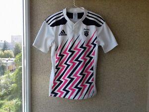 A imagem está carregando Stade-Francais-Paris-Camisa-De-Rugby-Home-2014- 88c534116ec8e