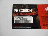 Honda Atv Accessories Seat Cover, Camo Pn0821-0457