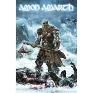 Amon-Amarth-Jomsviking-Flag-Official-Death-Metal-Band-Fabric-Premium-Textile-New