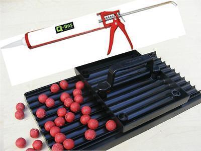 14, 16, 18, 21mm Longbase Boilie Making Bait Rolling Roller Table + Boilie Gun
