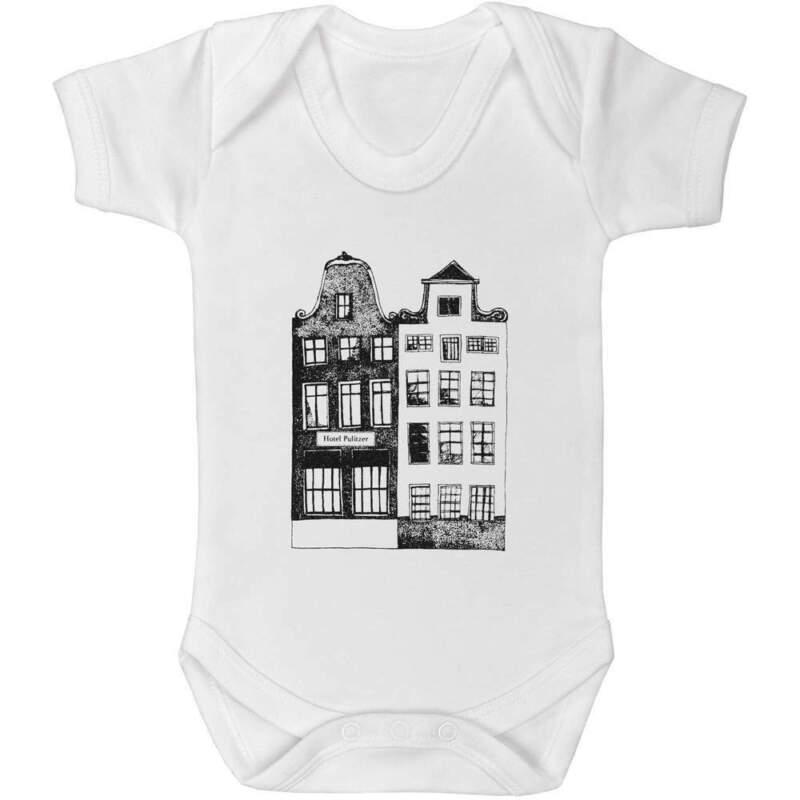 'amsterdam Gebäude' Baby Body Unisex (gr005560)