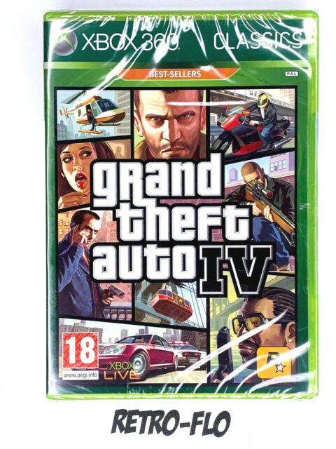 Grand Theft Auto IV - Classics - Jeu Microsoft Xbox 360 - NEUF