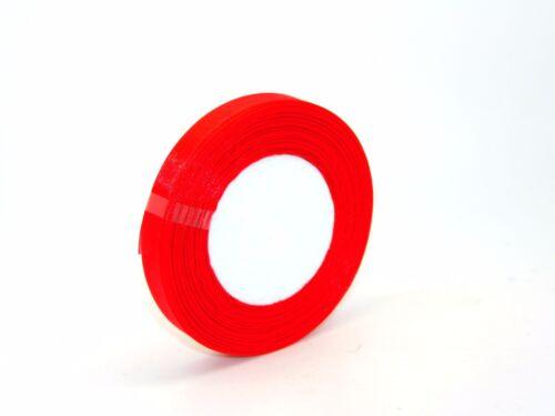46 Metres 1 x 50 Yard Roll of 13mm Sheer Organza Ribbon Wedding PICK COLOURS *