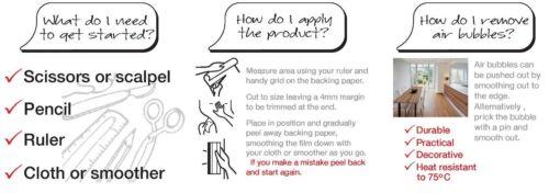 D C FIX GLOSSY CREAM MAGNOLIA STICKY BACK PLASTIC SELF ADHESIVE VINYL FILM WRAP