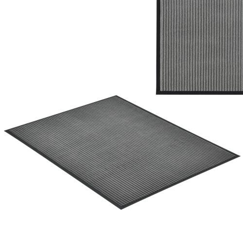 en. casa ® Paillasson 120x90cm gris foncé türmatte Paillasson Saleté Tapis de coffre